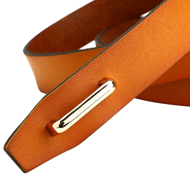 CASTELLES Coupled Buckle Genuine Leather Belt For Women Designer Woman Belt High Quality Female cinturones mujer ceinture femme (3)