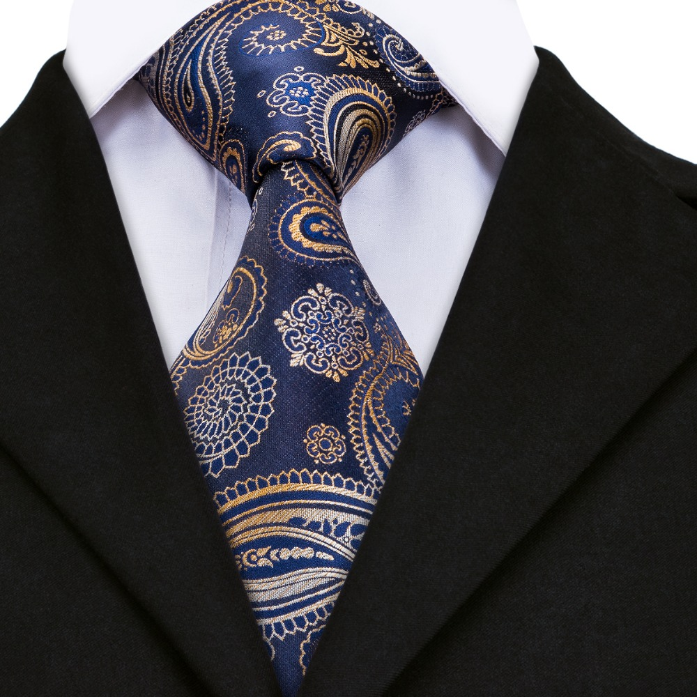 Gp 001 mens tie black blue peru floral silk jacquard ties for men these wrinkles can be removed very easy using steam iron of low temperature with wet towel above the tie ccuart Image collections