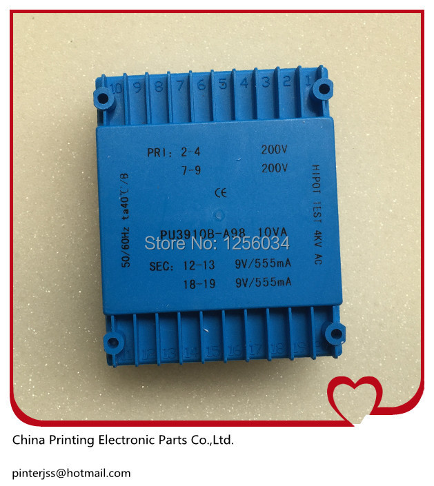 1 piece KlM4 blue Transformer PU3910B