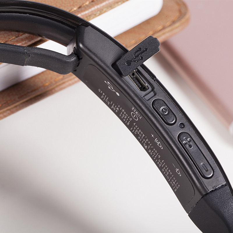 Prisegajte na slušalke s kostnimi kondicijami Bluetooth 4.0 - Prenosni avdio in video - Fotografija 4
