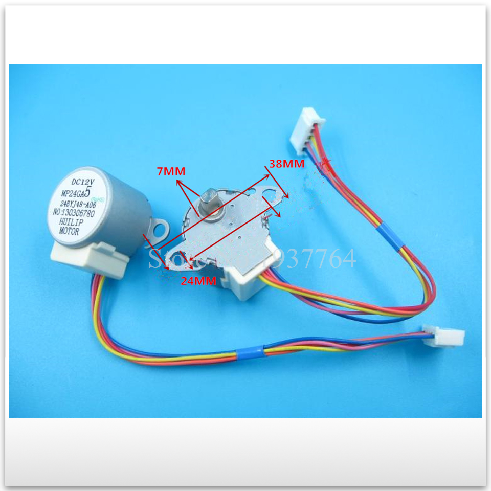 new for Air conditioning Stepper motor MP24GA5 MP24GA Synchronous scavenging motor good working 368 stepper motor condition very good 6a