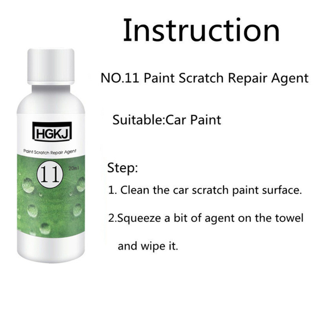 20ml Pro Car Scratches Repair Auto Scratch Remover Fluid Waterproof Auto Care Polishing Wax Car Care Accessories TSLM1