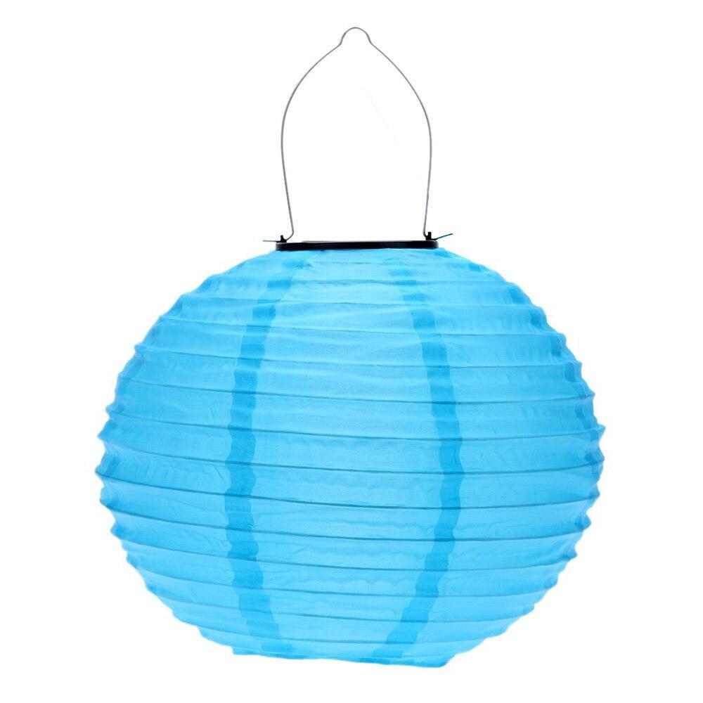 10 Solar lanterns Solar Road Lantern for garden decoration Blue