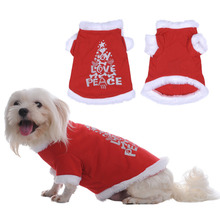 New Winter Dog Cat Pet Clothes Christmas Pet Dog Clothes Santa Claus Costume Outwear Coat Hoodie Dog Coat Jacket Winter Clothing