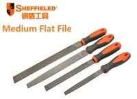 SHEFFIELD Medium Flat File Durable 6 8 10 12 Knife Rasp File DIY Wood Carving Tools