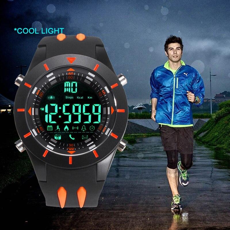 Top Luxury Brand Watch New Calorie Pedometer Fashion SmartWatch Watches Men Waterproof Digital LED Men's Women Smart Sport Watch