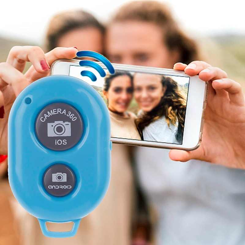 Nuevo Bluetooth inalámbrico remoto obturador Cámara teléfono Monopod palo selfi con disparador temporizador Control remoto para IOS Android