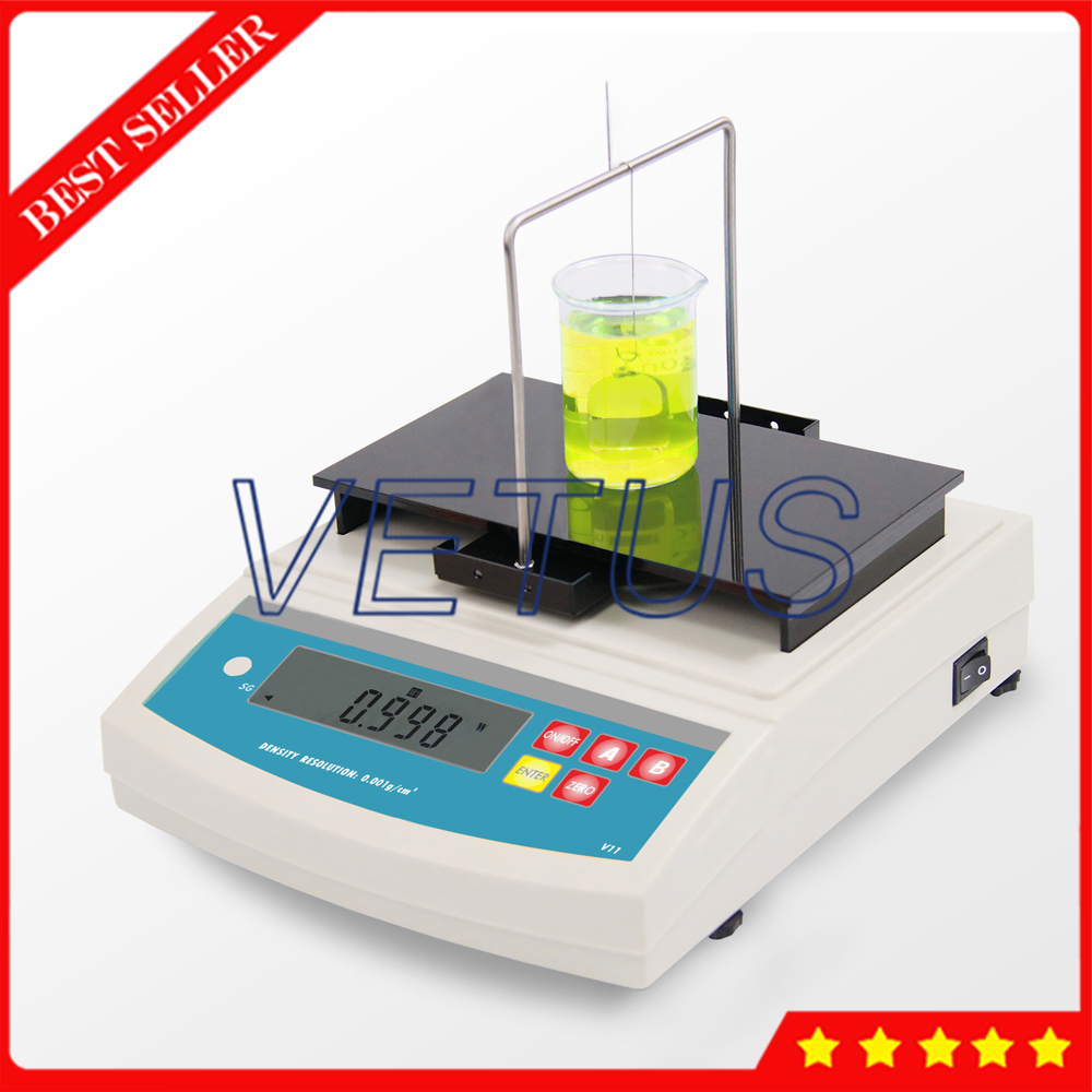 Density Testing Us 929 7 10 Off Dh 300l High Precision Electronical Liquid Densimeter With 001 G Cm3 Density Resolution Density Testing Instrument In