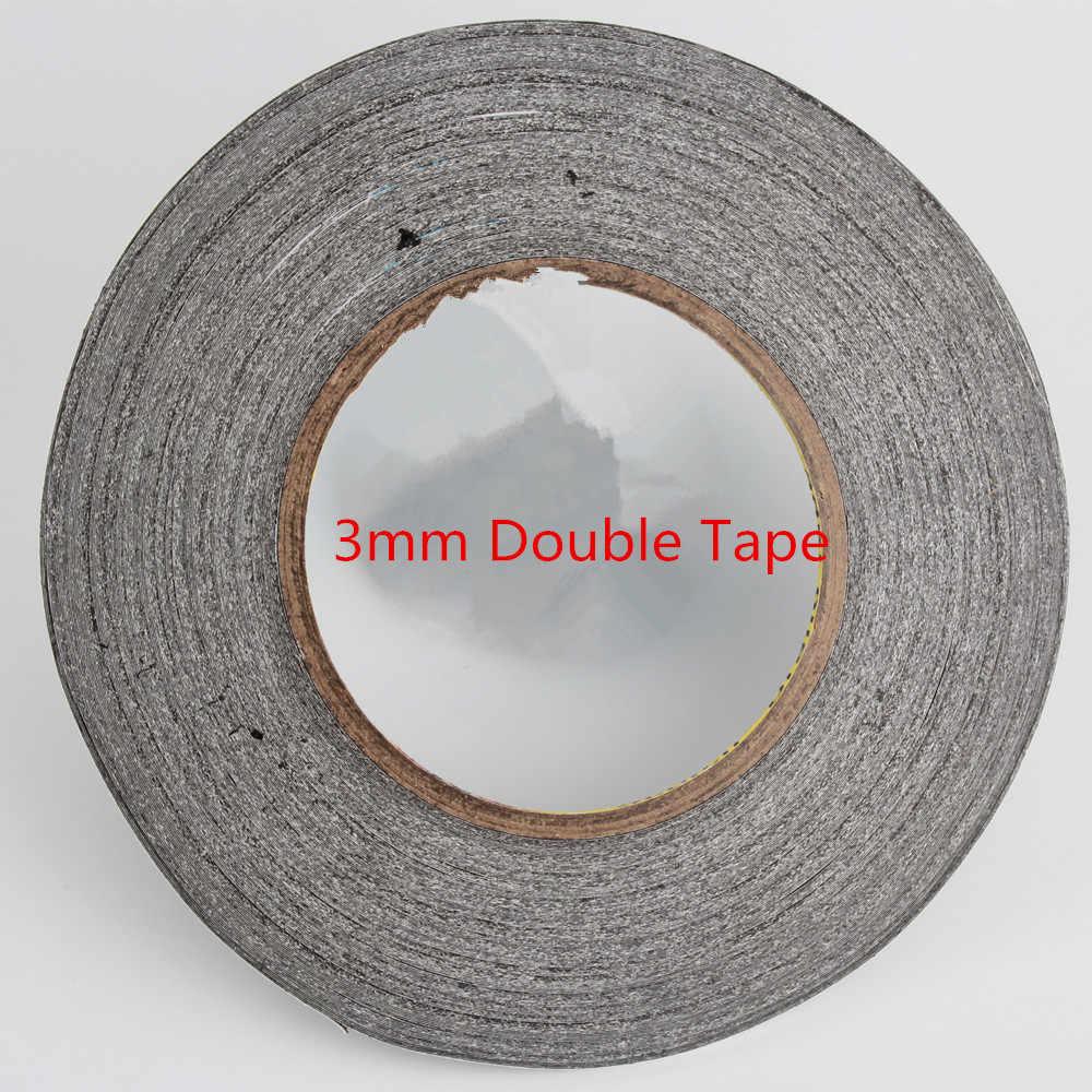 1 piezas 3mm 50 metros whisky cinta 3 M de doble cara para ipad 1 ipad 2 ipad 3 para ipad 4 arreglo de reparación móvil envío gratis