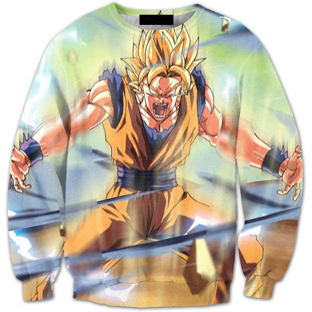 Angry Goku Sweatshirt