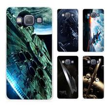 Star Wars Spaceship Science Fiction Clear Transparent Cell Phone Case Cover for Samsung Galaxy A3 A5 A7 A8 A9 2016 2017