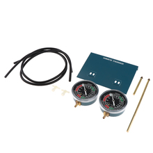 Motorcycle Carb Carburetor Vacuum Gauge Synchronizer Balancer Tool Kit High Quality  Durable Easy to Install 70mm Dia Dropship