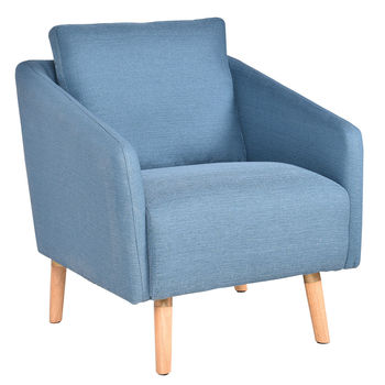 Upholstered Arm Chair Single