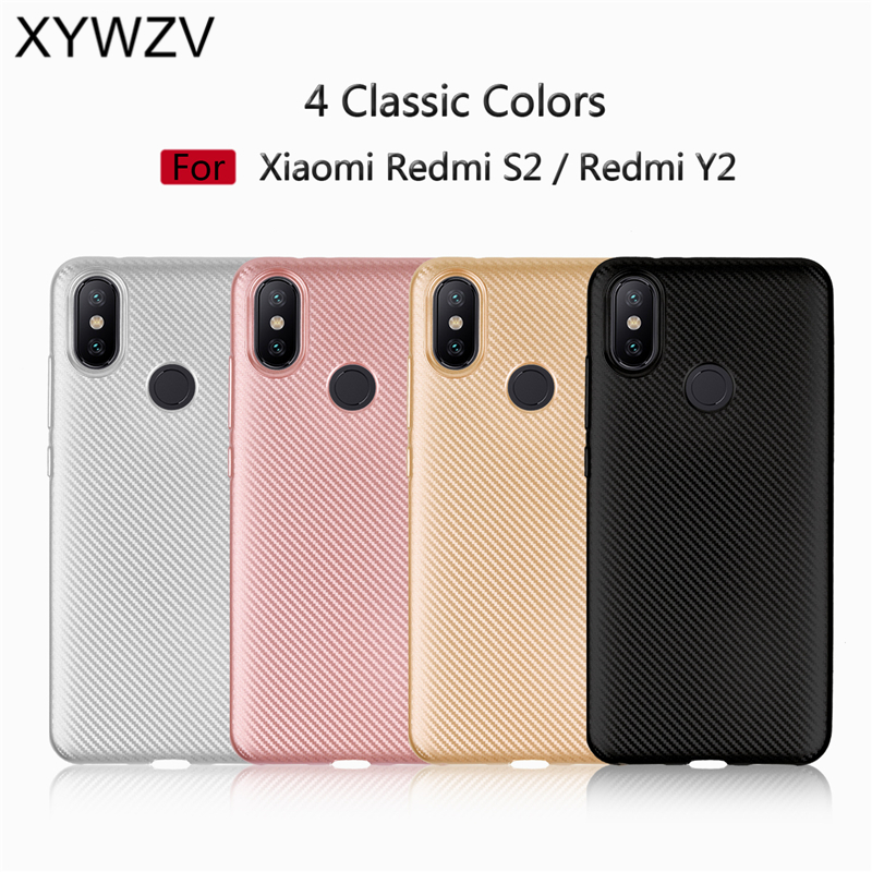 For Cover Xiaomi Redmi S2 Case Luxury Armor Soft Silicone Phone Case For Xiaomi Redmi S2 Back Cover For Xiaomi Redmi Y2 S 2 Capa in Fitted Cases from Cellphones Telecommunications