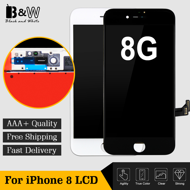 New Arrival Hot Sell Top Quality No Dead Pixel 4 7 For iPhone 8 8G LCD