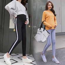 Women Pants Spring Casual Maternity Legging Elastic Waist Belly Sports Clothes For Pregnant Pregnancy Pencil