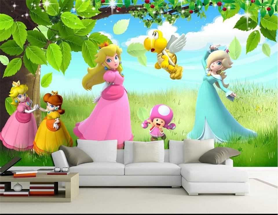 Fototapete kinderzimmer baum  Online Get Cheap Prinzessin Wandbild Tapete -Aliexpress.com ...
