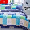 Классический комплект постельного белья  4 размера  серый  синий  с цветами  комплект пододеяльников  простыня с пасторальным дизайном  AB  по...