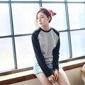 2015 nova arctic monkeys marca dos ganhos de moda t shirt mulheres tops harajuku plus size do punk do vintage t-shirt de manga comprida casuais