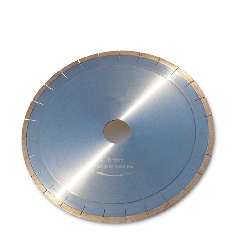 DB07 Factory Quartz Diamond Saw Blades D350mm 14 Inch Diamond Cutting Disc For Cutting Quartzite 1PC