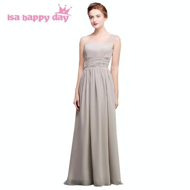 women elegant gray formal sweetheart a line chiffon evening gowns ...