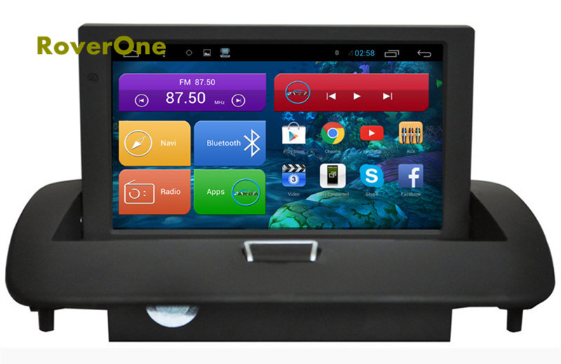 For <font><b>Volvo</b></font> S60 C40 S40 C30 <font><b>C70</b></font> V50 Android 4.4 Autoradio Car Multimedia Media Player GPS Navigation System Bluetooth Mirror Link image