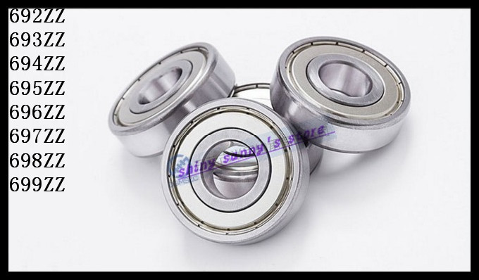 10pcs/Lot 693ZZ 693 ZZ 3x8x4mm Mini Ball Bearing Miniature Bearing Deep Groove Ball Bearing Brand New