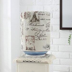 SRYSJS couvercle de distributeur d'eau 2 pièces | Ensemble de couvertures de fontaine à boire, Machine anti-poussière, protecteur de lin et de coton, chiffon anti-poussière