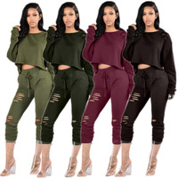Europe And The Fall And Winter Of 2016 New Sexy Long Sleeved Suit Collar Jumpsuit Long