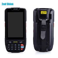 4.0Inch Multi Touch Screen Wireless Barcode Scanner Android 7.0 Handheld Terminal RFID Smart Card Reader & Writer