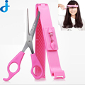 Pro Hairdressing Hair Cutting Shear Scissors Thinning DIY Bangs Hair Shears Trimmer Comb Hair Clippers Trim