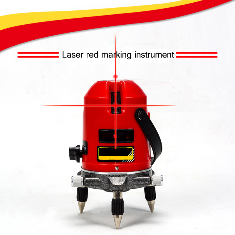 360 degree 2 Lines 2 Points Laser Level Red Beam Line Laser Self-Leveling 635nm Rotary laser Level Meter quality mtian level laser 5 lines 6 points instrument levels 360 self rotary 635nm corss line lazer level tools fast delivery