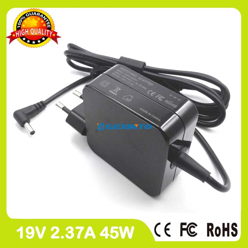 19V 2.37A ac adapter laptop charger for Asus Zenbook UX31A UX303UA UX31LA UX303UB UX305CA UX305FA Ultrabook EU Plug