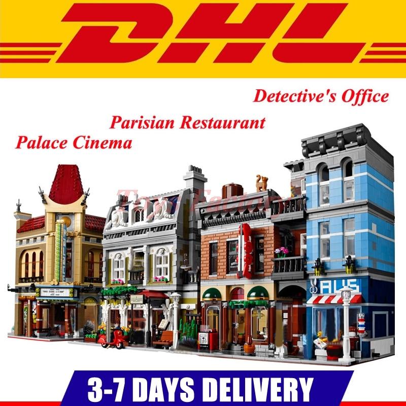 DHL LEPIN 15006 Palace Cinema 15010 Parisian Restaurant 15011 Detective