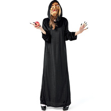 New Arrival Evil Witch Costume Cosplay Adult Women Halloween For Carinval Party Dress Up Suit