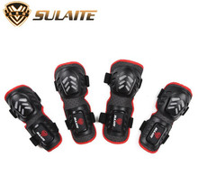 SULAITE Motocross Racing Knee Protector Guard Outdoor Protective Gear Motorcycle Riding Knee Pads And Elbow Protector