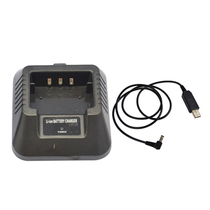 Image 3 - USB 충전기 어댑터 Baofeng UV 5R DM 5R BF F8 + BF F8HP 햄 워키 토키 유연한 입력 솔루션