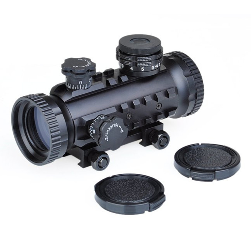 AIM 1X30 Red Green Dot Sight Tactical Optical Scope Airsoft Riflescope Hunting Rifle Sco ...