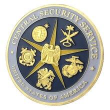Центральный безопасности Услуги/css хорошие продажи позолоченные вызов монет/сувенир/медаль 1205