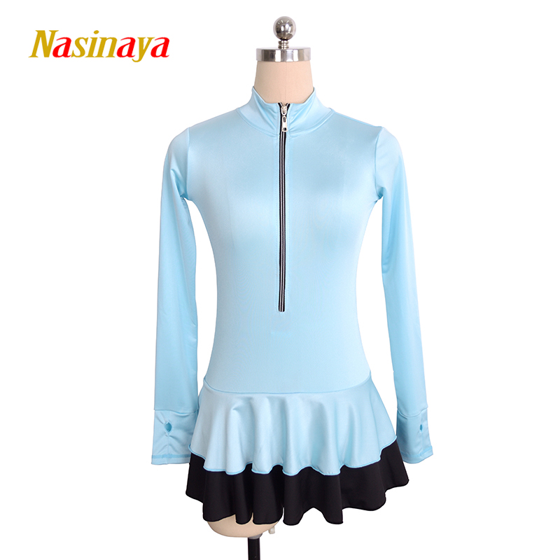 Customized Figure Skating Jacket Tops with dress for Girl Women Adult Training Competition Patinaje Ice Skating Gymnastics 1