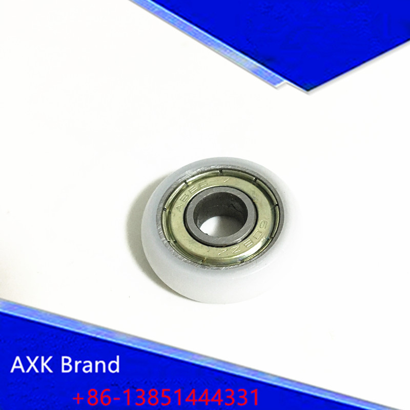 0519B 0522B 0523B 0525B 0527B  Nylon wheel hanging / ball bearing with pulley wheel for doors and windows  shower room  husky uaefr 1621 0527 0551