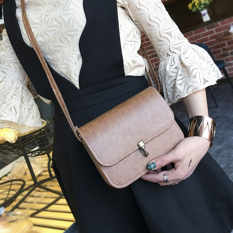 Simple Fashion Korean Women Mini Bag Leather Solid Color Casual Messenger Shoulder Bags For Ladies Girls Gifts LT88 ветровка lee lee le807emqto58