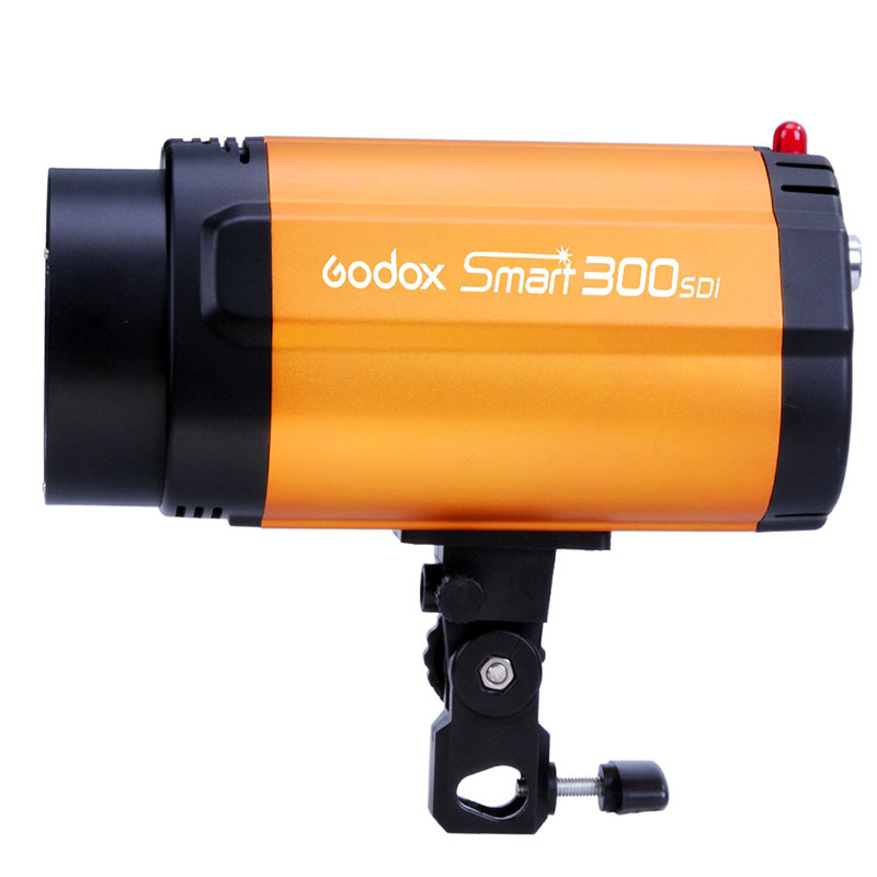 GODOX Smart 300SDI Strobe Photo Flash Studio Light 300w Pro Photography Studio Lamp head 220V 110V godox smart 300sdi 300ws flash studio photography light orange ac 220v 3 flat pin plug