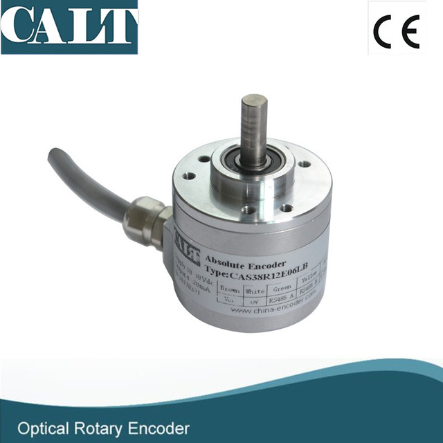 US $290 0 |CALT 16 bit high resolution absolute rotary encoder CAS60 115200  bps Baud rate 24V dc RS485 position sensor -in Speed Measuring Instruments