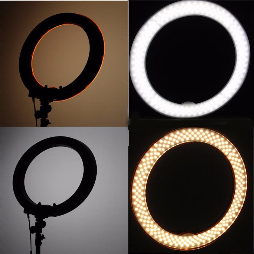 Fotopal Dim LED Fotoğraf Halka Işık Youtube Için Tripod Ayna Ile - Kamera ve Fotoğraf - Fotoğraf 3