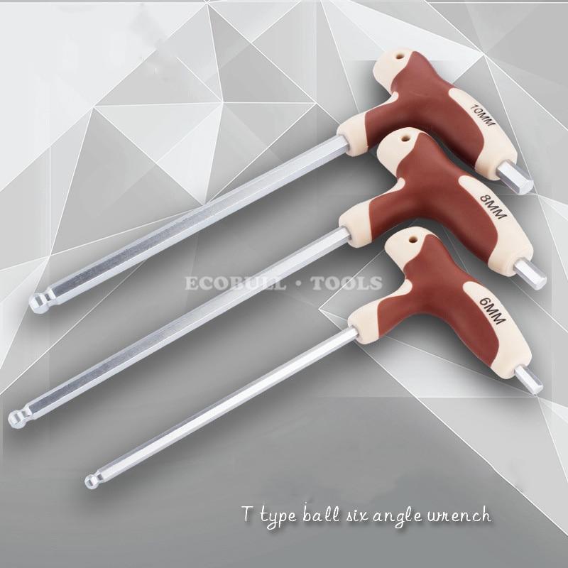 LIJIAN Chiave esagonale con impugnatura a T Chiave a brugola con - Utensili manuali - Fotografia 3