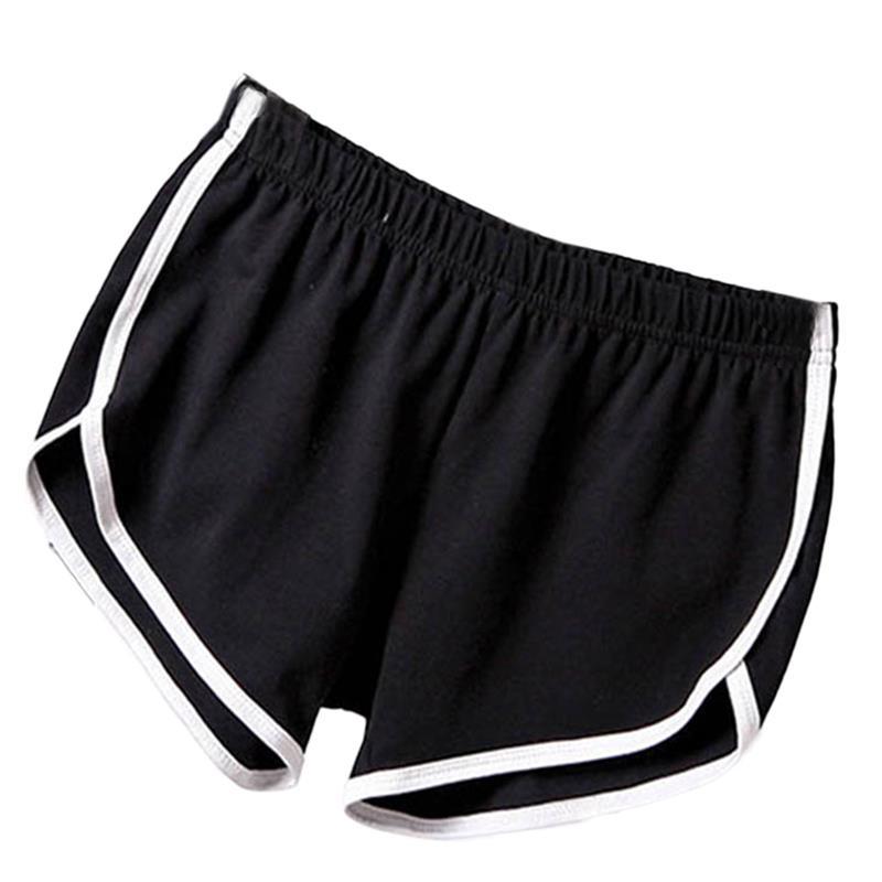 New Summer Shorts Women Casual Shorts Workout Waistband Skinny Short 3