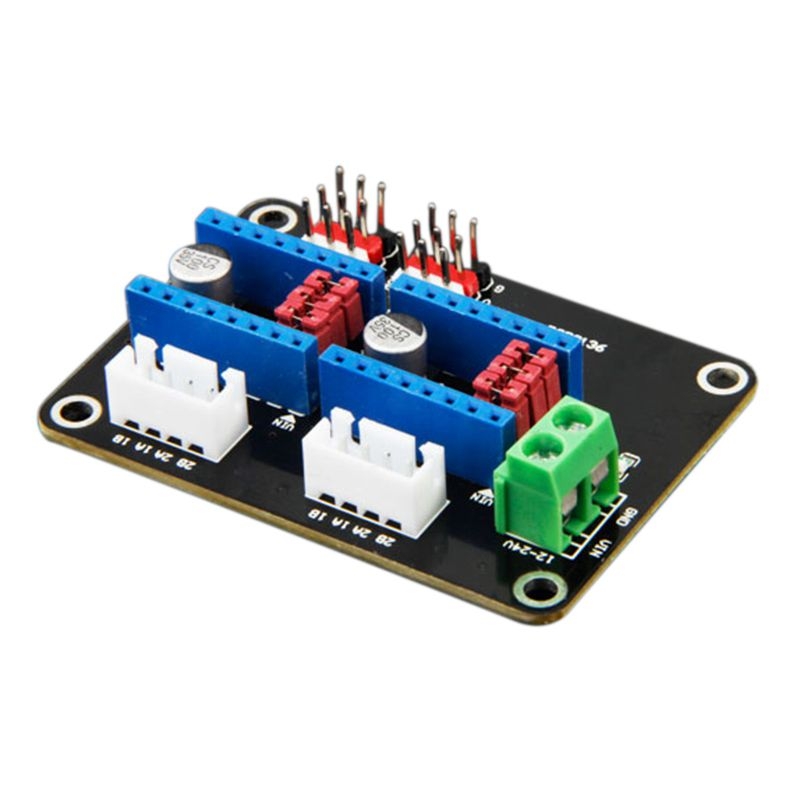 BLEL Hot 3D Printer Dual 42 Stepper Motor Drive Expansion Board 8825 / A4988