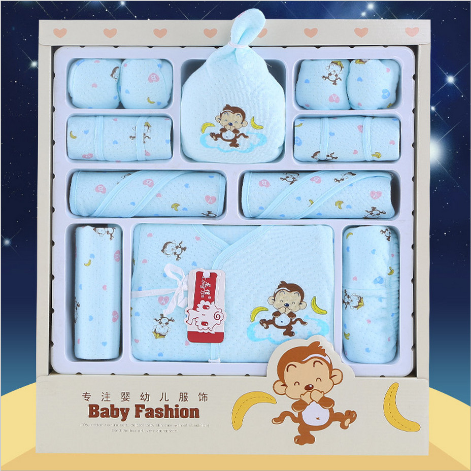 2016 infant clothing sets newborn baby clothes gift set cotton character baby 15 pieces full moon clothing set for 4 seasons 16 pieces set newborn baby clothing set underwear suits 100% cotton infant gift set full month baby sets for spring