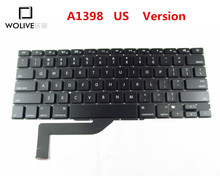 Genuine New US Keyboard A1398 For Macbook Pro Retina 15″ 2012-2015 Year Language version US Replacement